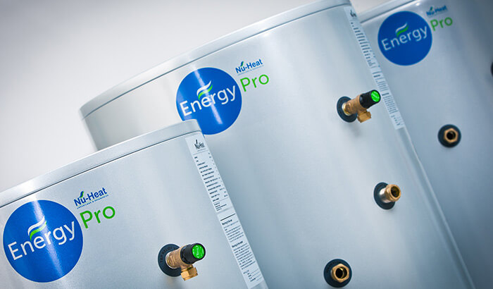 Hot Water Cylinders | Nu-Heat Underfloor Heating