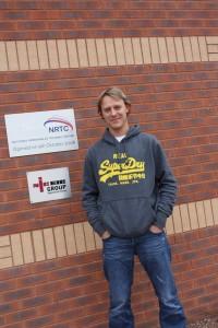 Ryan Faint outside the NRTC