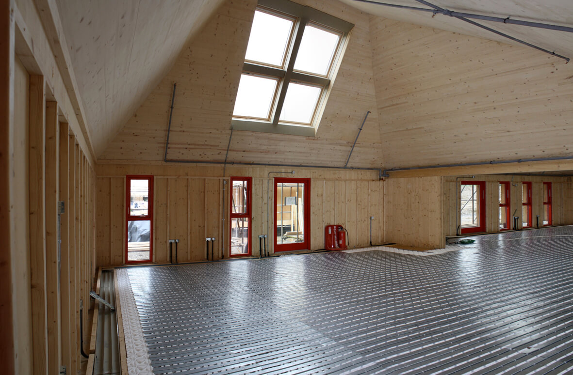 Underfloor Heating For Commercial Applications