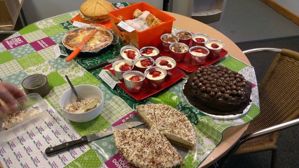 Nu-Heat charity bake off