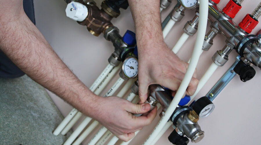 Nu-Heat manifold