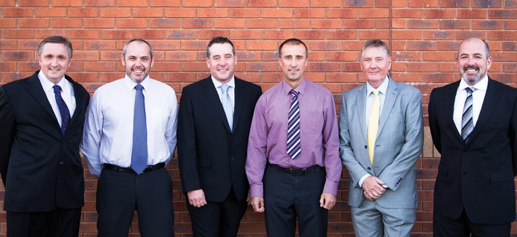 Nu-Heat's Field Sales Team, from left to right: David, Ian, Brian, Paul S, Steve, Paul W