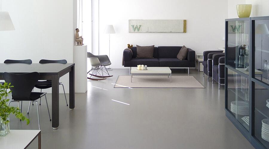 Modern floor finishes