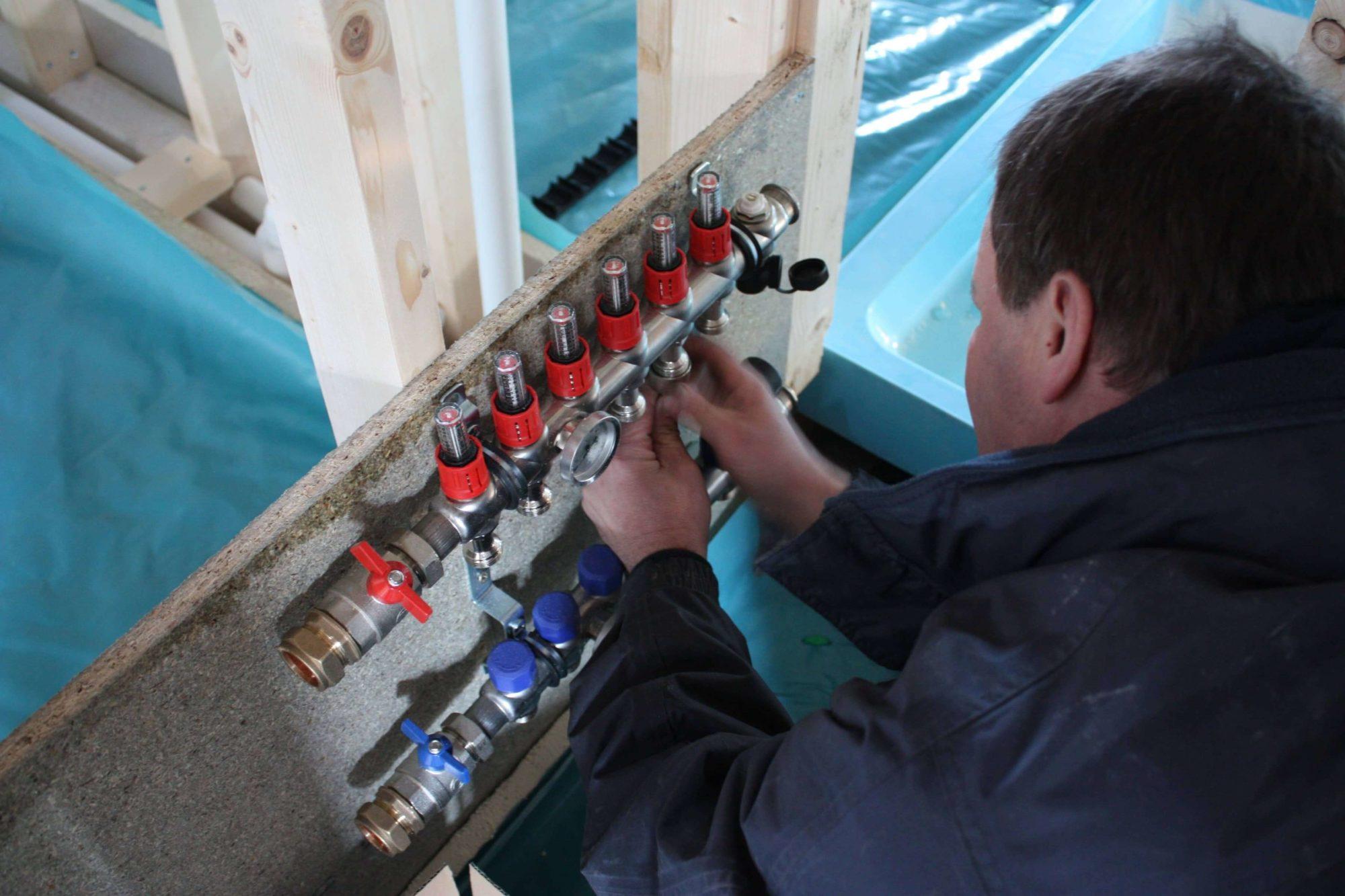 Underfloor heating service