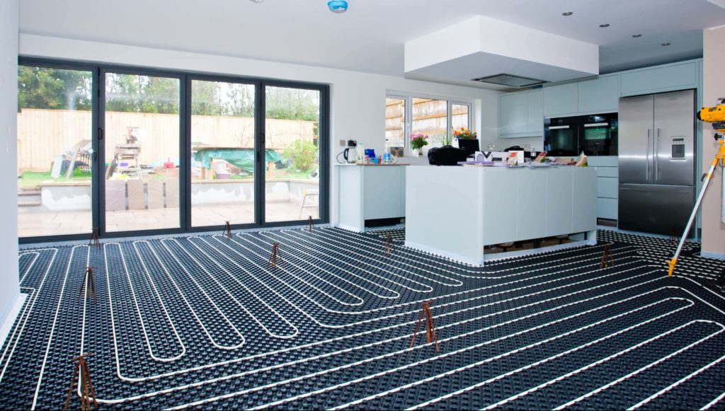 High Heat Output Retrofit Underfloor Heating  Lopromax