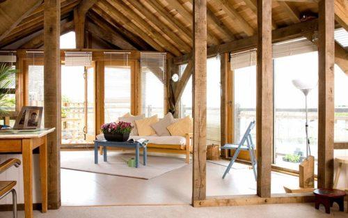 Case study underfloor heating in Fisherman's Cottage