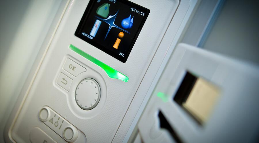 Heat pump controls