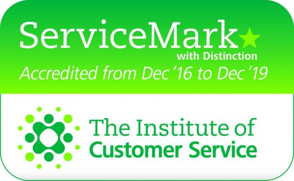 ICS ServiceMark with distinction