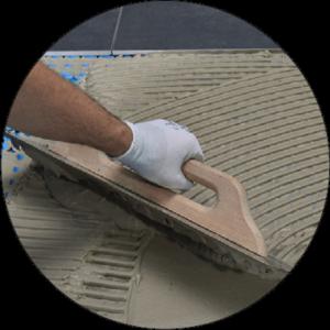 Electric underfloor heating install 3