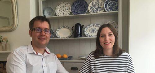 James and Ellie - Nu-Heat customers