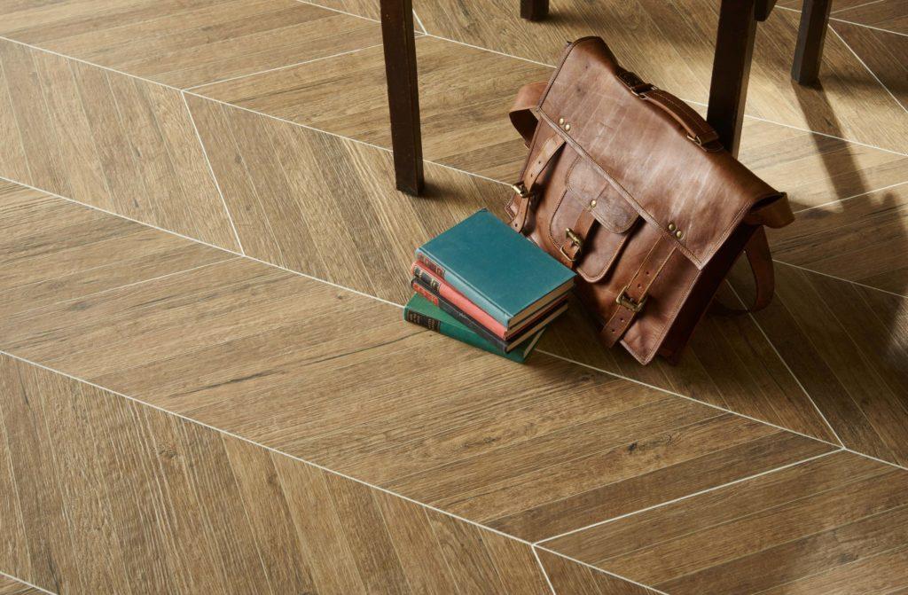 Engineered wood with underfloor heating