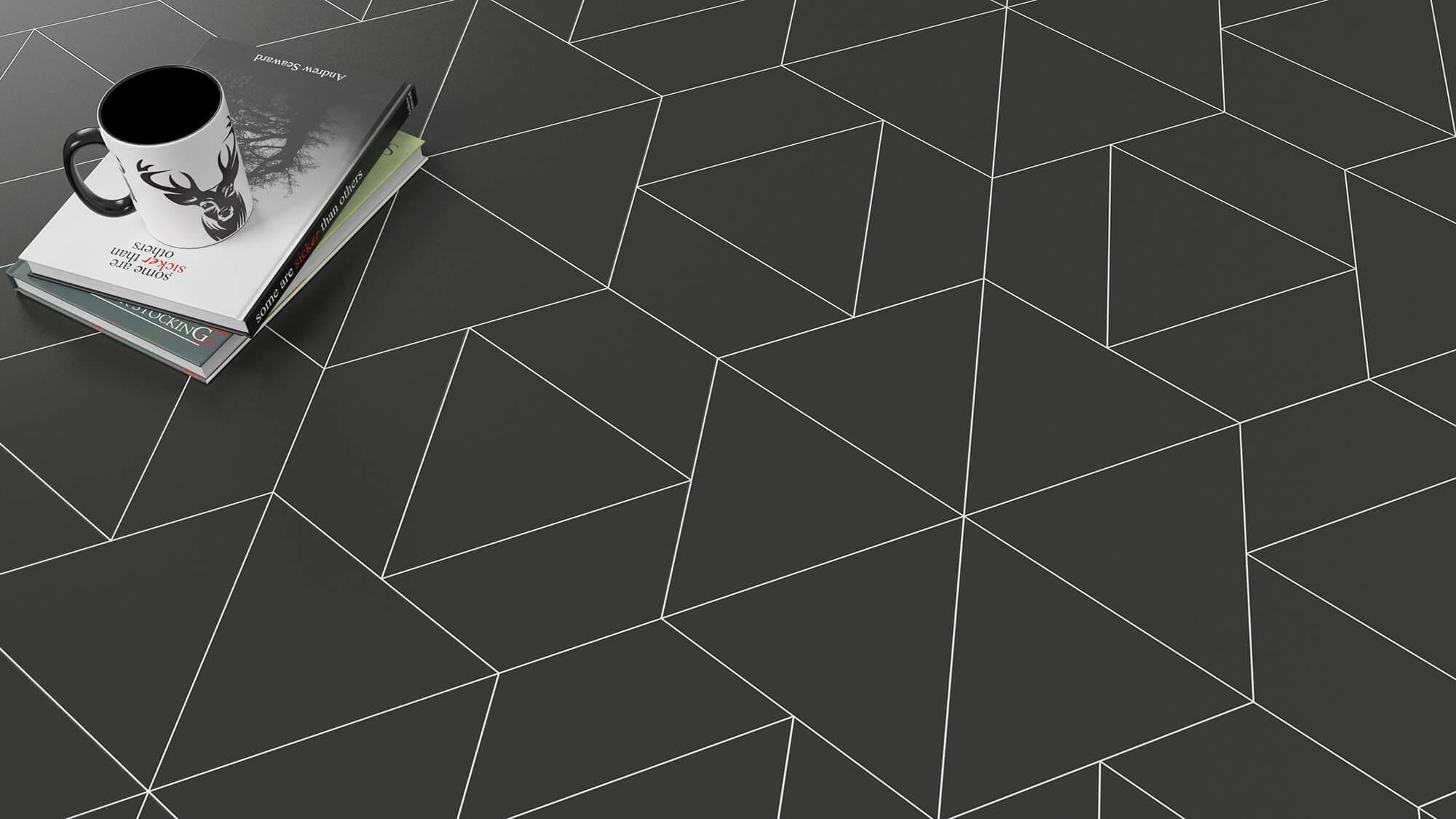 Vinyl and linoleum floor coverings with underfloor heating