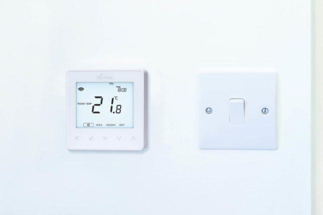 heated floor thermostat