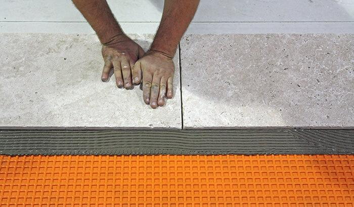 Retrofit UFH Tiles