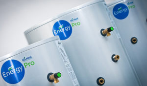 Underfloor heating cylinders