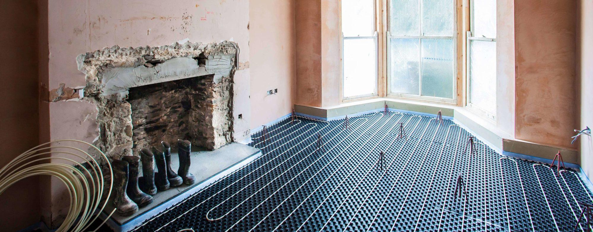 retrofit underfloor heating