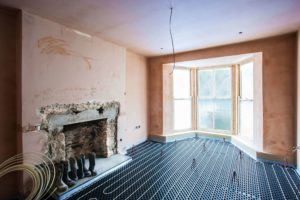 Retrofit underfloor heating