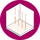 UFH benefits - Warm Heated floor