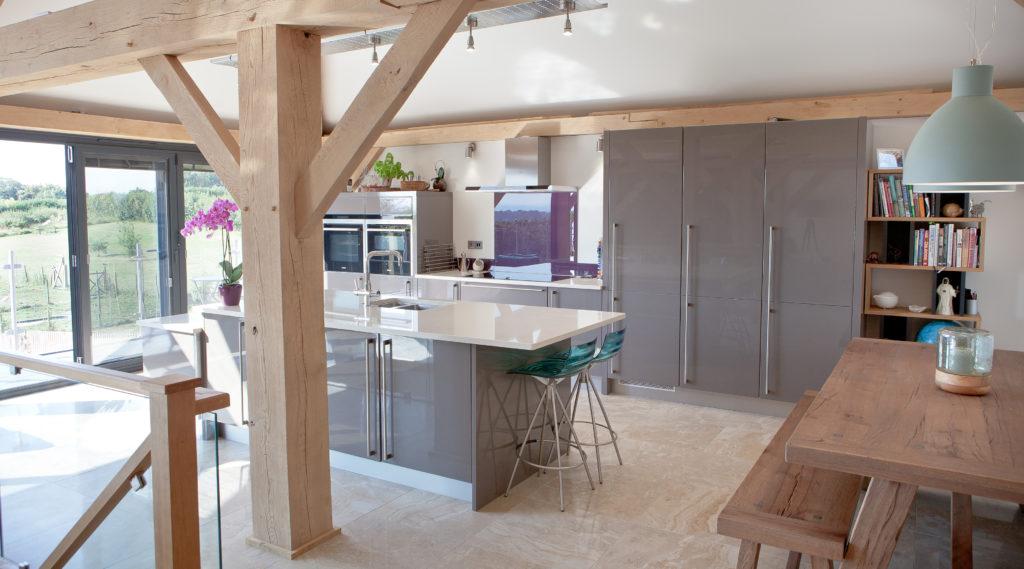 Underfloor heating kitchen
