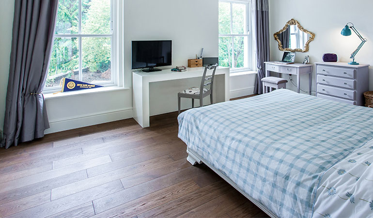 UFH with wooden floors