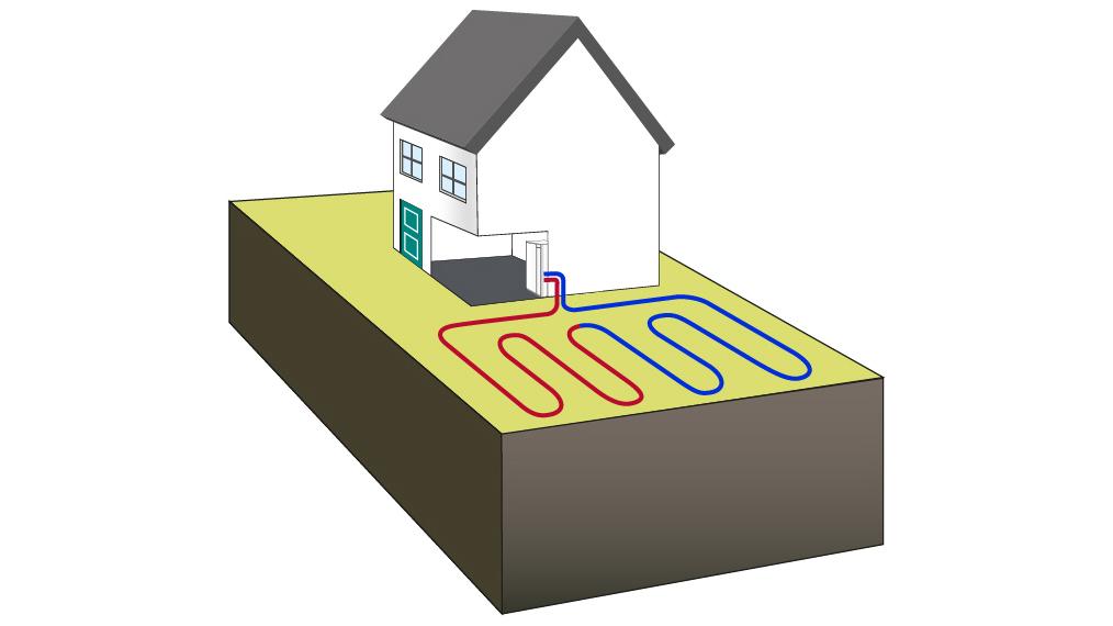 Ground Source Heat Pump Ground Loop Diagram