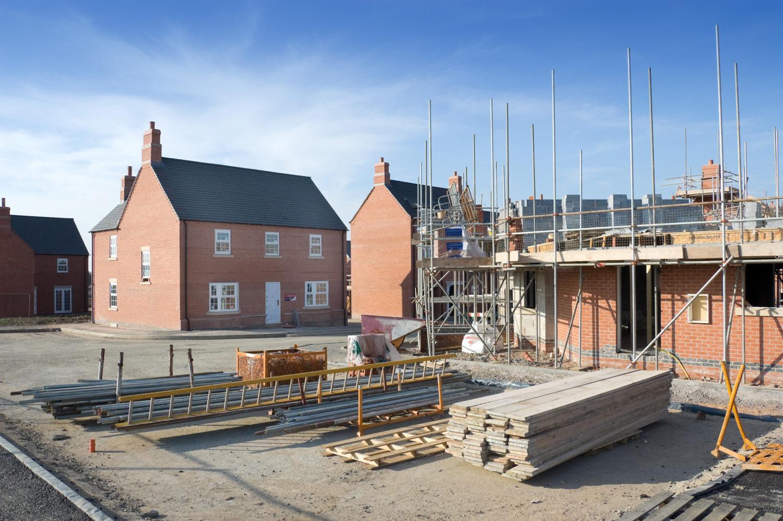 New build housing development