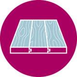 Solid & engineered wood with underfloor heating