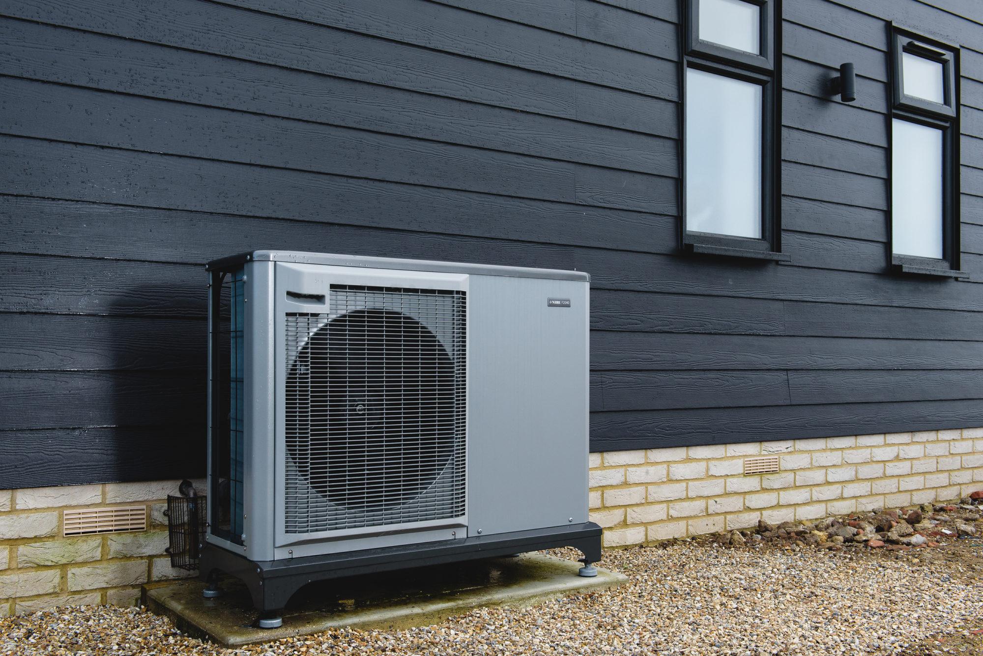 NIBE Air Source Heat Pump with Underfloor Heating