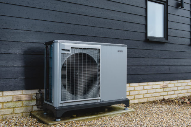 NIBE Air Source Heat Pump with Underfloor Heating