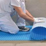 Electric underfloor heating - installation step 2