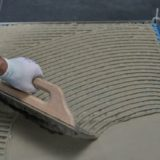 Electric underfloor heating - installation step 4