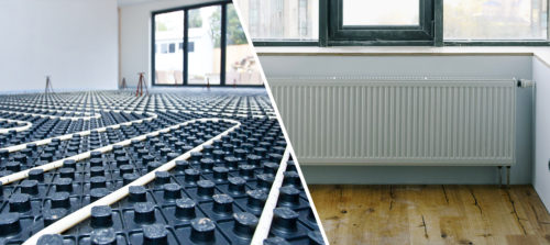 Underfloor Heating vs Radiators