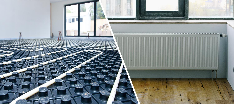 Underfloor Heating vs Radiators