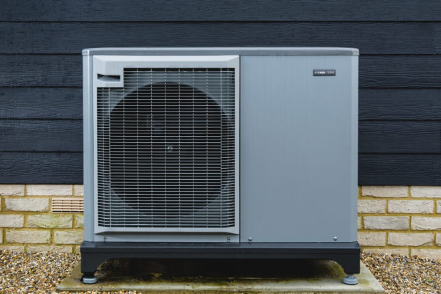 The benefits of air source heat pumps