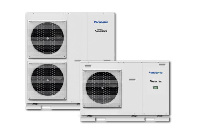 Panasonic air source heat pumps