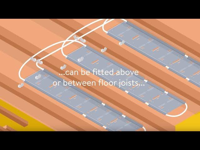 ClippaPlate underfloor heating