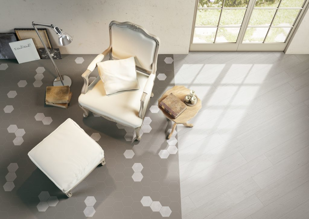 Rugs with underfloor heating and tiles