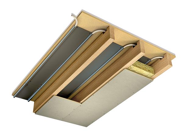 Joisted underfloor heating