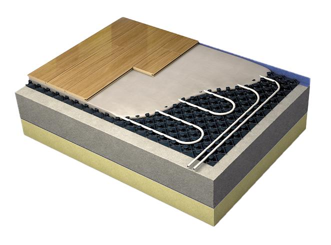 LoPro®Max underfloor heating