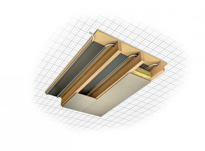 Underfloor heating for first floors