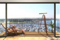Coble Quay balcony (c) Coble Developments