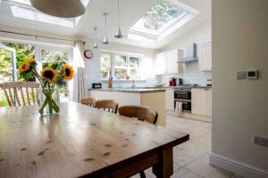 Kitchen underfloor heating