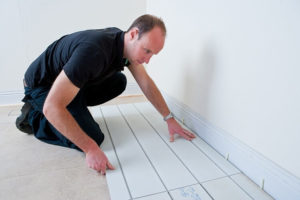 Installing a LoPro retrofit UFH system