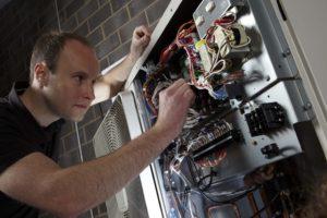 Underfloor heating installer