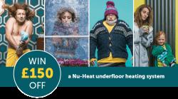 Win £150 off underfloor heating