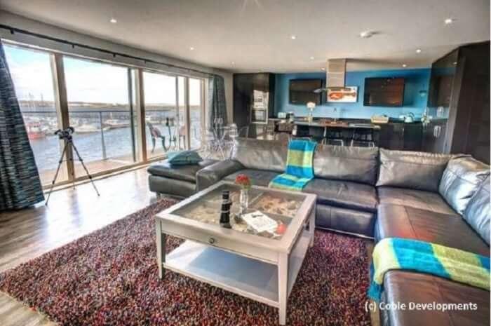UFH project brief - Coble Quay interior